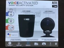 Altec Lansing Voice Activated Smart Security System Google Assistant Hue Nest.