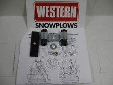 WESTERN OEM SNOW PLOW ANGLE RAM HOSE HOLDER ASSEMBLY FOR ULTRA-MOUNT PLOWS