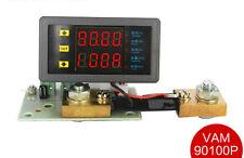 DC  90V100A Voltmeter Ammeter Dual LED Display Voltage Current AMP Power Meter