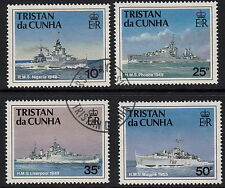 Ships, Boats Used Tristanian Stamps