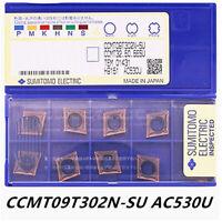 SUMITOMO  CCMT09T302N-SU AC530U / CCMT32.50.5ESU  CNC carbide inserts 10pcs