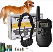 Electronic Dog Bark Stop Training Collar Anti Bark LCD Dog Trainer For Dogs 998D