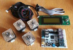 Kit Stampante 3D DIY  GT2560 Rev A+ - LCD 2004 - 4 Nema 17 - 3 DRV8825 - 2 A4988