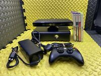 Xbox 360 Slim 4GB console bundle with Kinect,  4 Games & 1 Wireless controller