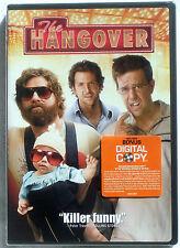 The Hangover (2009 comedy DVD) Ed Helms, Bradley Cooper, Zach Galifianakis  NEW!