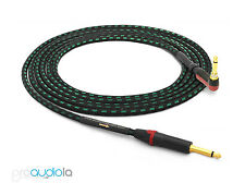 Evidence Audio Lyric HG Instrument Cable   Neutrik Gold TS to 90º Silent TS 18'