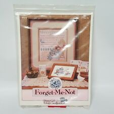 Forget-Me-Not # 873 - Donna Gallagher Creative Needlearts Cross Stitch