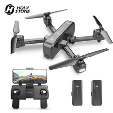 Holy Stone HS270 2.7K Camera Selfie RC Drone with HD Camera GPS + 2 x Batteries