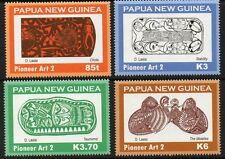 PAPUA NEW GUINEA SG1304/7 2009 PIONEER ART MNH