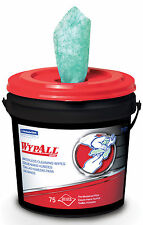 Wypall 91371 Waterless Cleaning Hand Wipes (75 wipes/bucket)