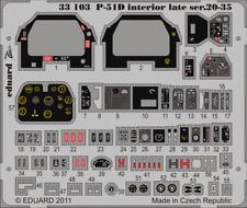 Eduard Zoom 33103 1 / 32ede TAMIYA p-51d mustang tôt série 20-35