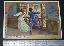 CHROMO LEFEVRE-UTILE LU NANTES 1887-1899 LES HUGUENOTS