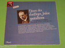Stars della 30er anni congratularmi con Bruno Alboni Winkler al 100.geb. EMI 2 LP