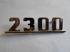 LOGO Sign SCRITTA FIAT 2300