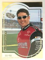 ELLIOTT SADLER - RARE! NASCAR Card - 2001 Trackside GOLD - only 50 made!