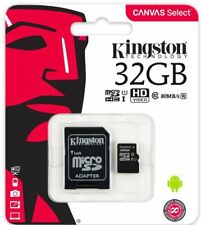 Kingston Mobile 32GB MicroSDHC Memory Card With SD Adapter SDC4/32GB