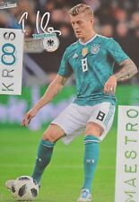 TONI KROOS - A3 Poster (ca. 42 x 28 cm) - DFB Fußball Clippings Fan Sammlung NEU