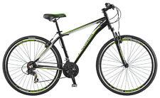 700c Schwinn OR2 Sport Hybrid bike front suspension, Black Green