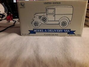 Ford Model A Delivery Van Limited Edition Coin Bank