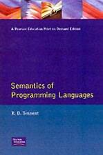 Semantics of Programming Languages (Prentice-Hall International Series in Compu
