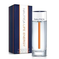 Nautica Life Energy For Men Cologne Eau de Toilette 3.4 oz ~ 100 ml Spray