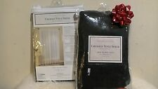 2 x  New One Rod Pocket Panel  50 in W x 84 in L Crushed Voile Sheer by platinum
