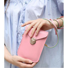 Mini Phone Crossbody Bags Handbags Leather Purses Card Holder Wallet Case S