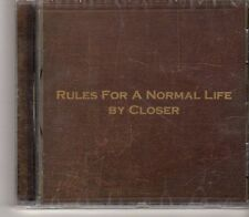 (GA851)  Rules For A Normal Life, By Closer - 2003 Sealed CD