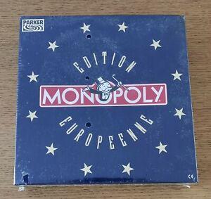 Jeu MONOPOLY Édition EUROPEENNE - PARKER 1991 - Neuf