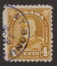 "CANADA 1930 #168 King George V ""Arch / Leaf"" Issue - F Used"