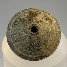Ancient Roman Stone Spindle Whorl; 100 Bc - 100 Ad. Nice And Heavy Piece!
