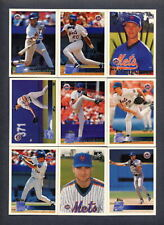 1996 Topps NEW YORK METS Team Set (15) Cards
