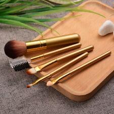 5Pcs Pro Makeup Brushes Set Powder Foundation Face Eyebrow Blending Brush tools