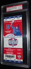 2012 WORLD SERIES GAME 4 SF GIANTS 7TH WS WIN TITLE CLINCHING FULL TICKET PSA