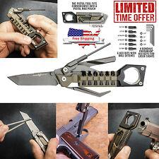 New Multi-Tool Knife Screwdriver Gun Pistol Kit Compact Home Outdoor Gear
