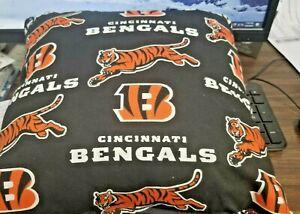 "Cincinnati Bengals 13"" x 13"" DECOR TYPE PILLOW, SOFT"