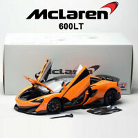 PreOrder LCD Models 1:18 Scale McLaren 600LT Orange Fully Open Car Model Diecast