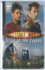Doctor Who: Sting of the Zygons Stephen Cole BBC Hardback 2007 Good- Condition