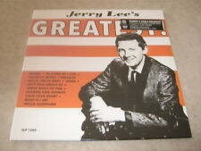 JERRY LEE'S-Greatest LP. SEALED Barnes & Noble Exclusive Orange Wax 1000 Pressed