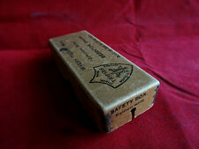 RARE VINTAGE WYERS FRERES SAFETY BOX FISHING ROD/LURE CARRIER