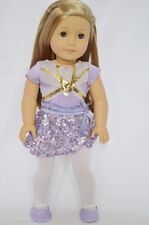 "Doll Clothes Fit AG 18"" Leotard Isabelle Gymnastic Made For American Girl Dolls"