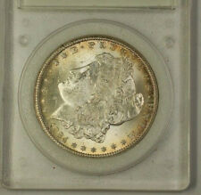 1884-CC Morgan Silver Dollar $1 collectible encapsulation Choice (A)