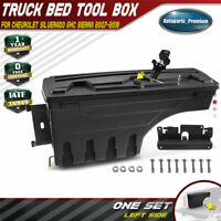 Truck Bed Storage Box Toolbox Left Driver for Chevy Silverado GMC Sierra 07-18