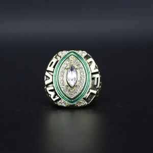 Aaron Rodgers Green Bay Packers 2014 Aaron Rogers MVP Ring with Wooden Box