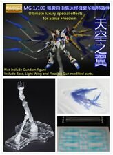 Ultimate luxury special effects for Bandai 1/100 MG Strike Freedom Gundam