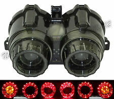 Red/Amber LED Tail Turn Signal License Plate Light For YAMAHA Zuma BWS 125 YW125