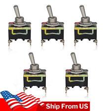 X5 Toggle Metal Switch Heavy Duty 20a 2 Terminal Onoff Car Waterproof Atv Us