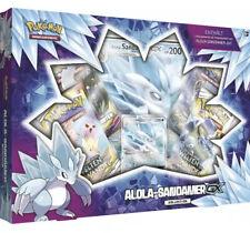 Pokemon Alola-Sandamer GX Kollektion Box Deutsch NEU&OVP (4 Booster + Promo)