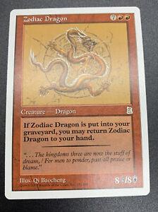 ZODIAC DRAGON Portal Three Kingdoms p3k Magic the Gathering mtg 1x NM- English