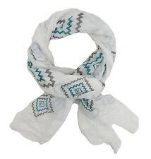 écharpe pour femmes blanc gris vert IBIZA Ella Jonte ethnique nouvelle saison